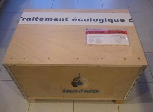 expéditions par colissage bois recyclé