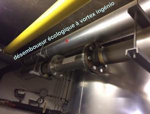 désemboueur et désembouage pour tout système de chauffage central et de chauffage collectif par clarificateur écologique made in France