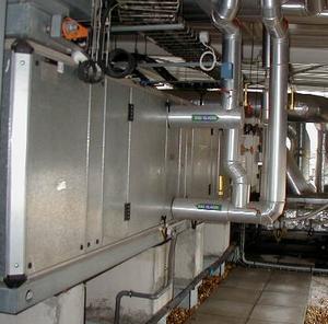 embouage désembouage batterie centrale d'air CTA par désemboueur ingénio abc protect, traitement d'eau écologique made in france, économique et durable