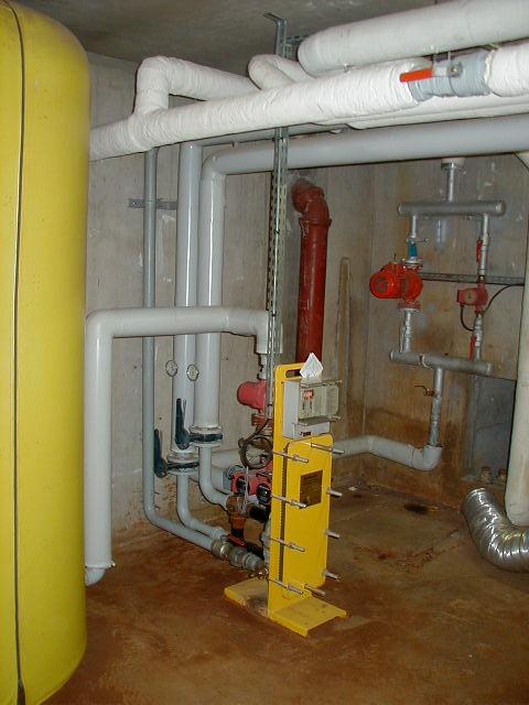 traitement calcaire sous-station ECS 200 logements ingénio acquacalc