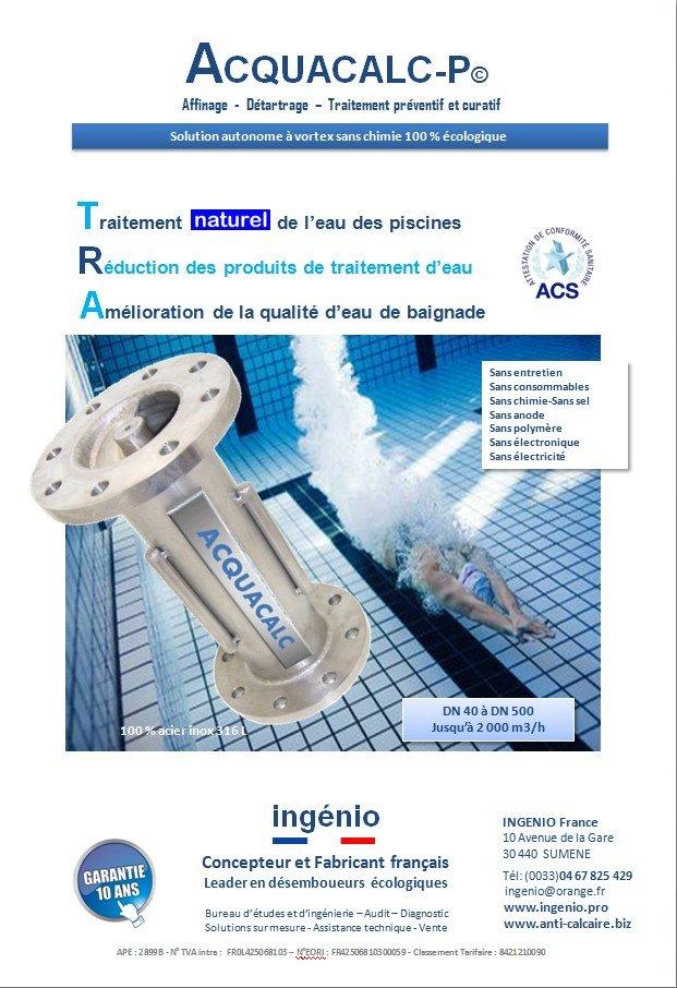 catalogue ingenio fabricant materiel traitement eau ecologique, desemboueur chauffage, antitartre, anticalcaire, anticorrosion, dynamiseur, vitaliseur